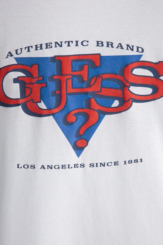 Guess - Dětské tričko s dlouhým rukávem bílá