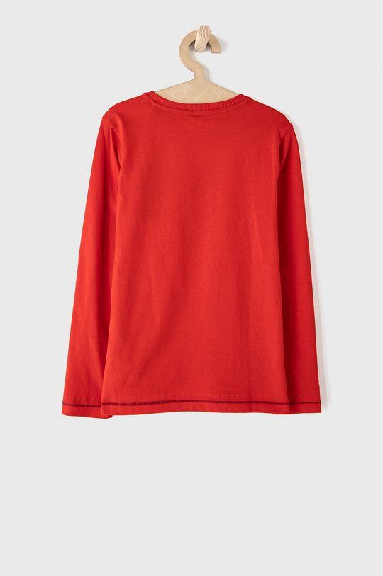 Guess - Dětské tričko s dlouhým rukávem červená