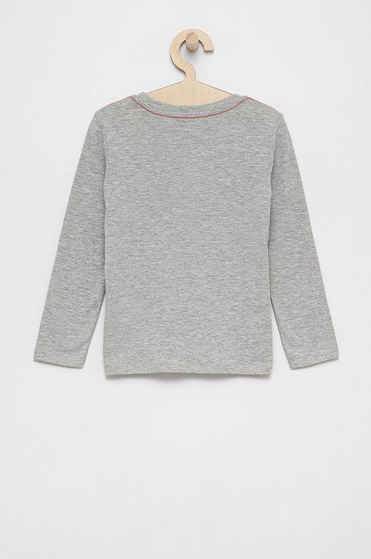 Guess - Dětské tričko s dlouhým rukávem světle šedá