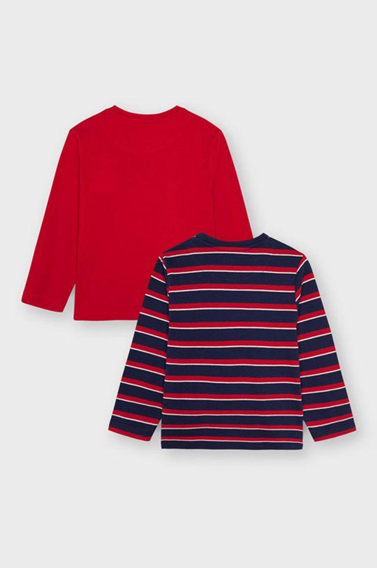 Mayoral - Longsleeve dziecięcy (2-Pack) ostry czerwony