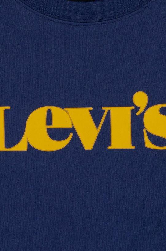 Levi's - Detské tričko s dlhým rukávom fialová