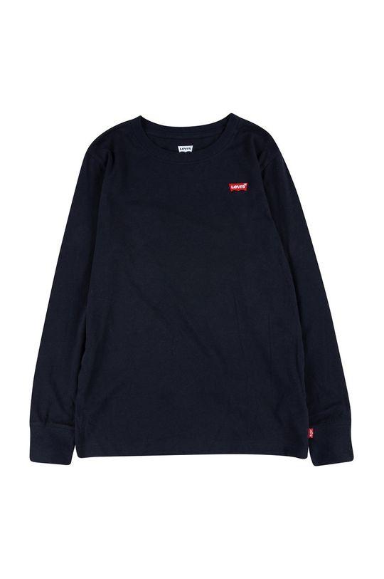 černá Levi's - Dětské tričko s dlouhým rukávem Chlapecký