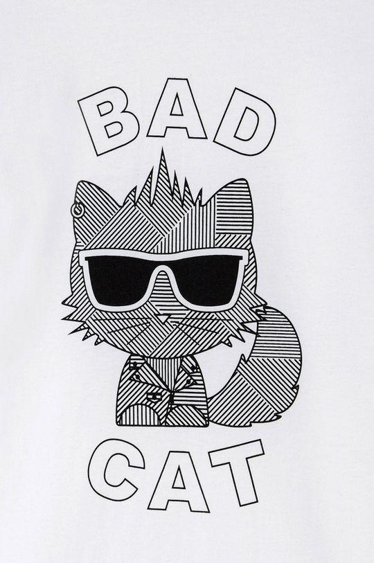 Karl Lagerfeld - Detské tričko s dlhým rukávom  100% Bavlna