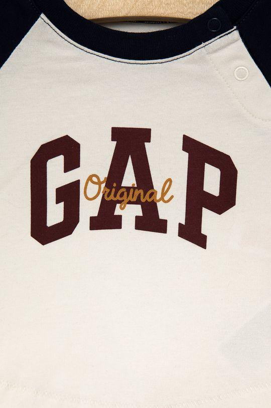 GAP - Longsleeve bawełniany dziecięcy 100 % Bawełna