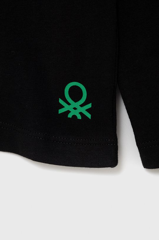 United Colors of Benetton - Detská bavlnená košeľa s dlhým rukávom  100% Bavlna