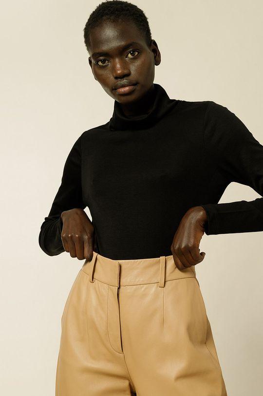 čierna IVY & OAK - Tričko s dlhým rukávom Kosma Dámsky