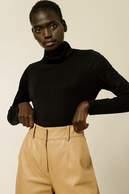 IVY & OAK - Tričko s dlhým rukávom Kosma čierna