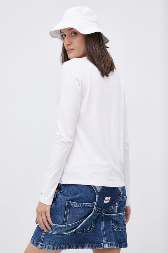 Tommy Jeans - Longsleeve bawełniany 100 % Bawełna