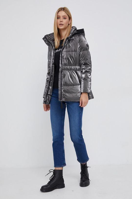 Calvin Klein - Longsleeve bawełniany czarny