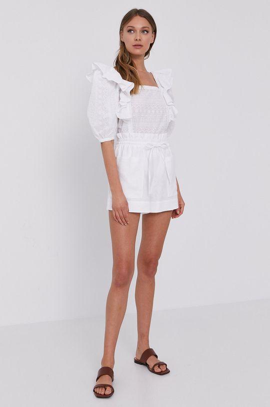 Miss Sixty - Bluzka bawełniana biały