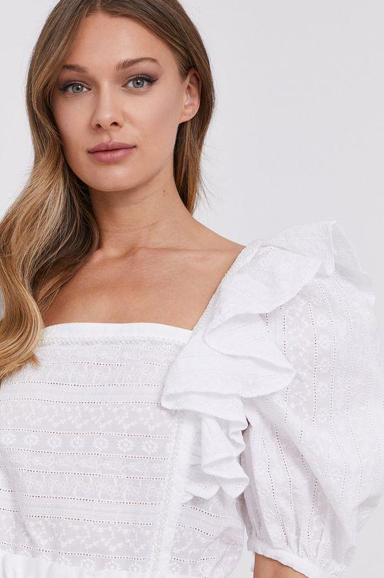 biały Miss Sixty - Bluzka bawełniana