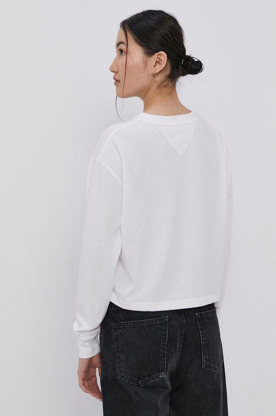 Tommy Jeans - Tričko s dlouhým rukávem  50% Bavlna, 50% Polyester