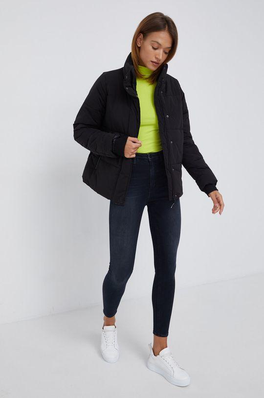 Calvin Klein Jeans - Longsleeve żółto - zielony