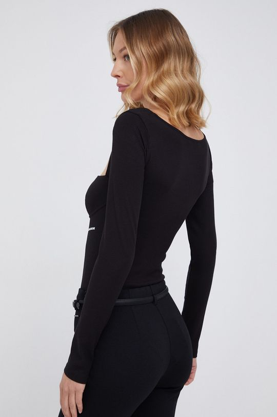 Calvin Klein Jeans - Longsleeve 7 % Elastan, 93 % Wiskoza