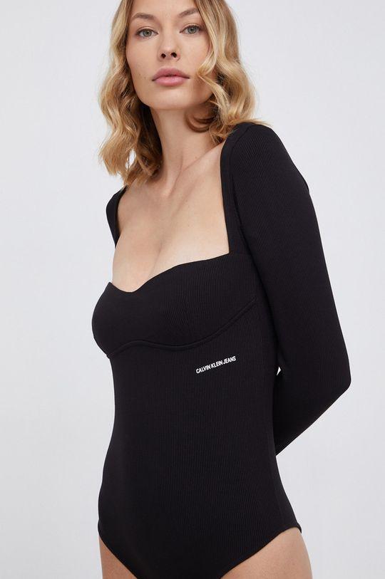 czarny Calvin Klein Jeans - Longsleeve