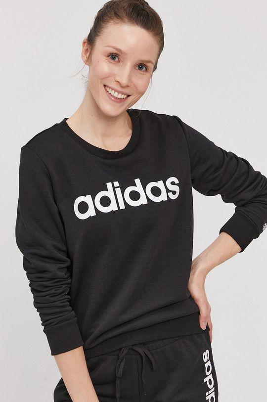 czarny adidas - Bluza Damski