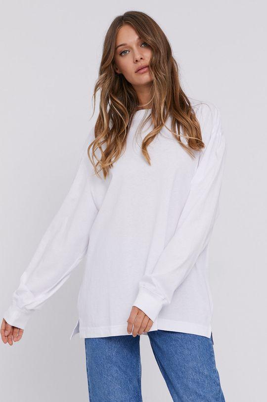 bílá Samsoe Samsoe - Tričko s dlouhým rukávem Dámský
