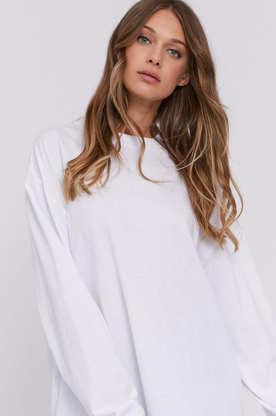 bílá Samsoe Samsoe - Tričko s dlouhým rukávem