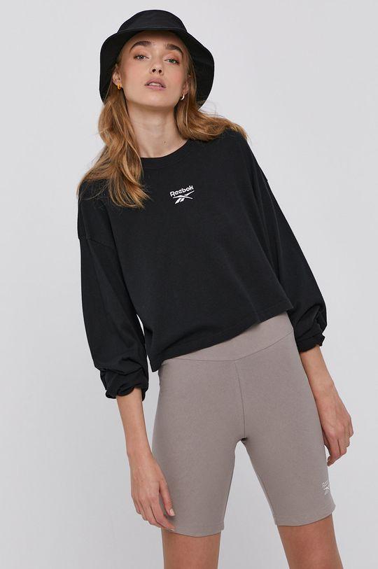 Reebok Classic - Tričko s dlouhým rukávem černá