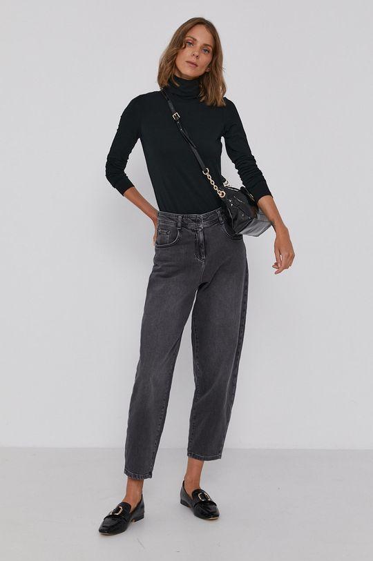 Pennyblack - Tričko s dlhým rukávom čierna