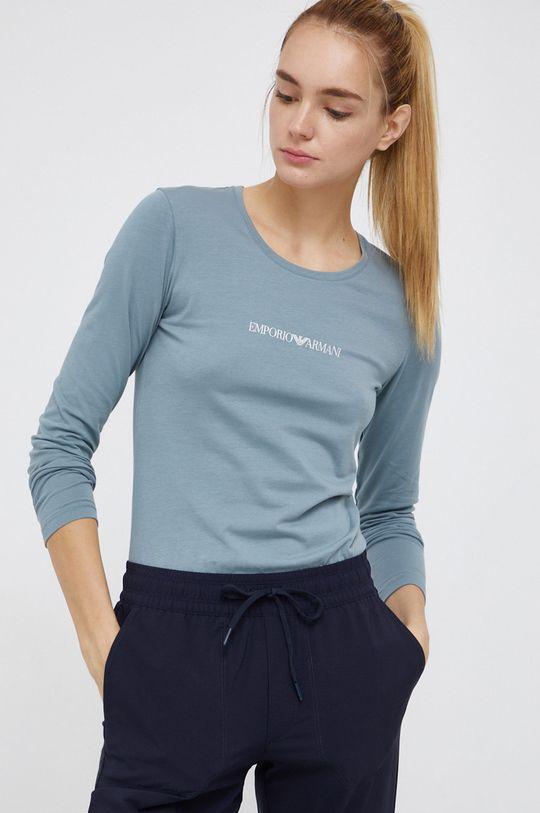 zielony Emporio Armani Underwear - Longsleeve Damski
