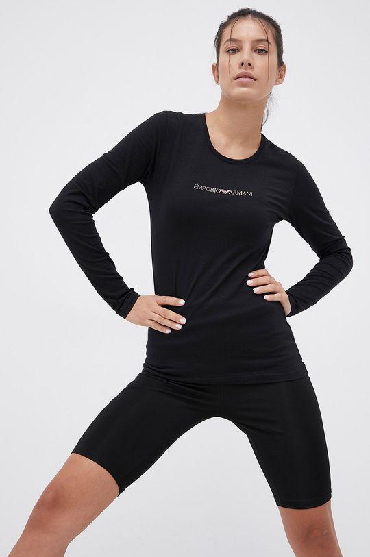 czarny Emporio Armani Underwear - Longsleeve Damski