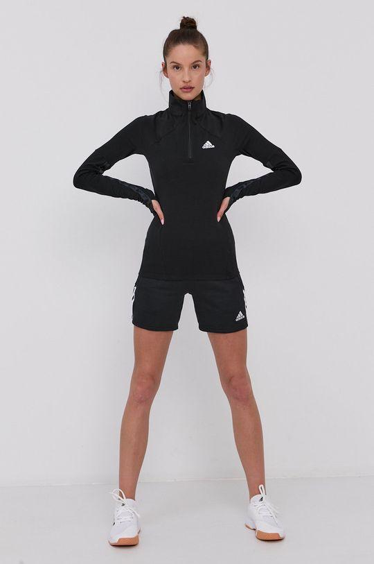 černá adidas - Tričko s dlouhým rukávem Dámský
