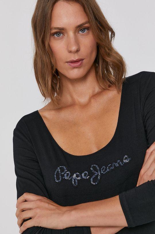 czarny Pepe Jeans - Longsleeve Paisley