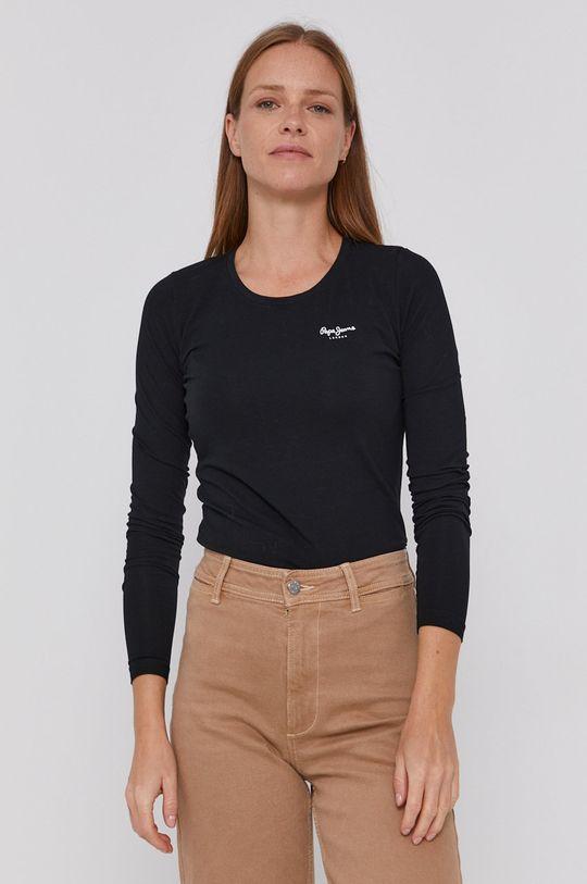 negru Pepe Jeans - Longsleeve Amberta De femei
