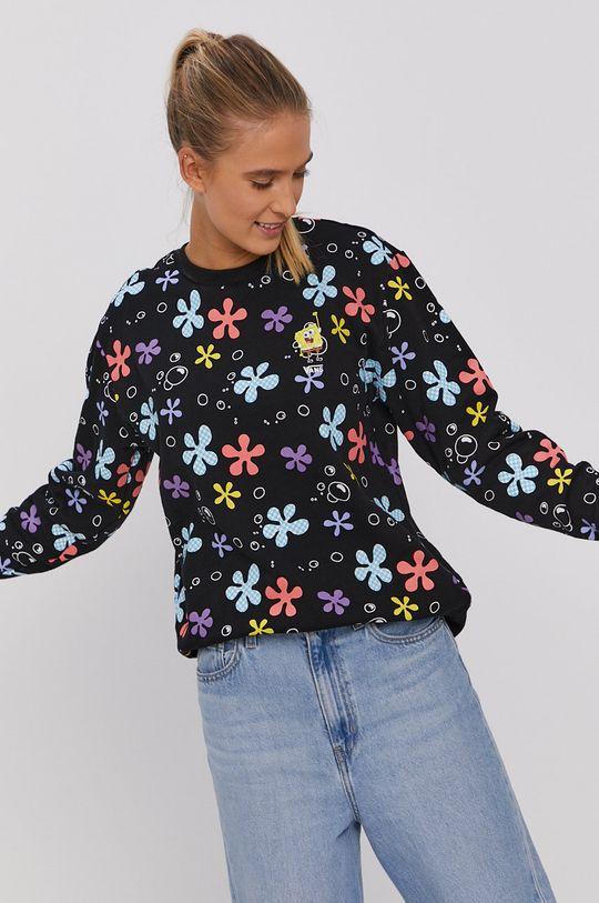 czarny Vans - Bluza x Spongebob