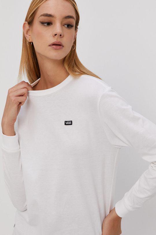 biały Vans - Longsleeve