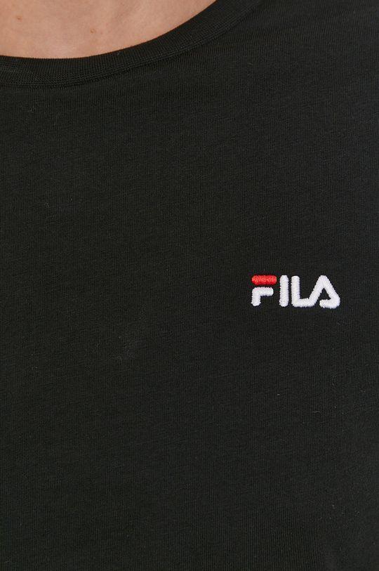 Fila - Longsleeve bawełniany Damski