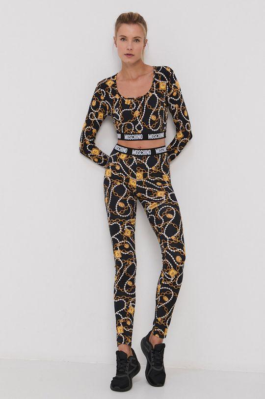 Moschino Underwear - Longsleeve czarny