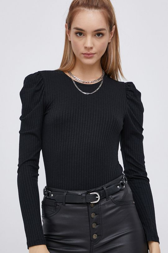 Jacqueline de Yong - Tričko s dlouhým rukávem  20% Bavlna, 5% Elastan, 75% Viskóza
