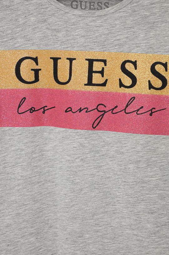 Guess - Dětské tričko s dlouhým rukávem šedá