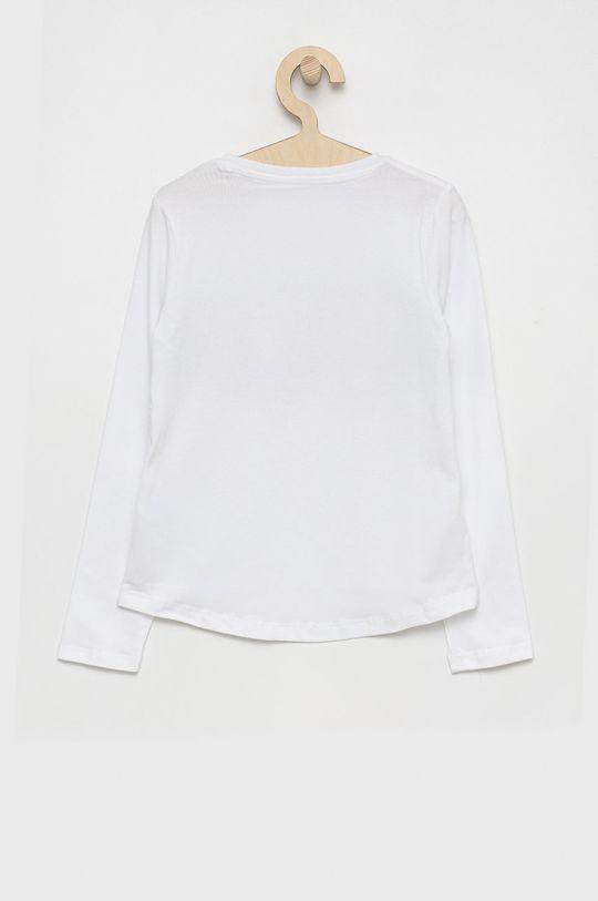 Guess - Detské tričko s dlhým rukávom biela