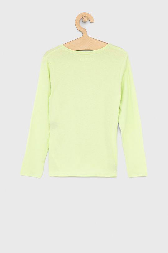 Guess - Dětské tričko s dlouhým rukávem 116-175 cm jasně žlutá