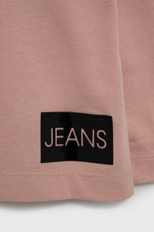 Calvin Klein Jeans - Longsleeve dziecięcy 100 % Bawełna