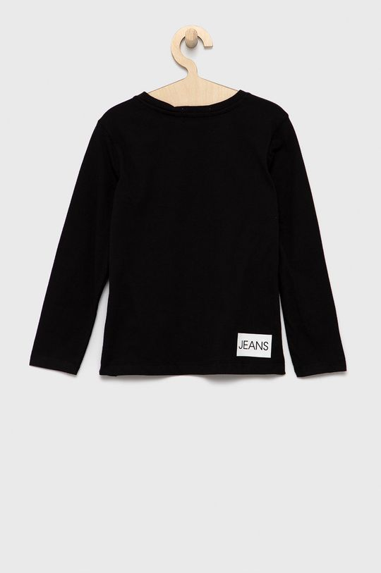 Calvin Klein Jeans - Longsleeve dziecięcy czarny