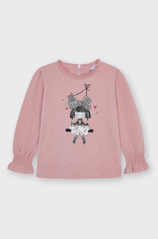 pastelowy różowy Mayoral - Longsleeve dziecięcy Dziewczęcy