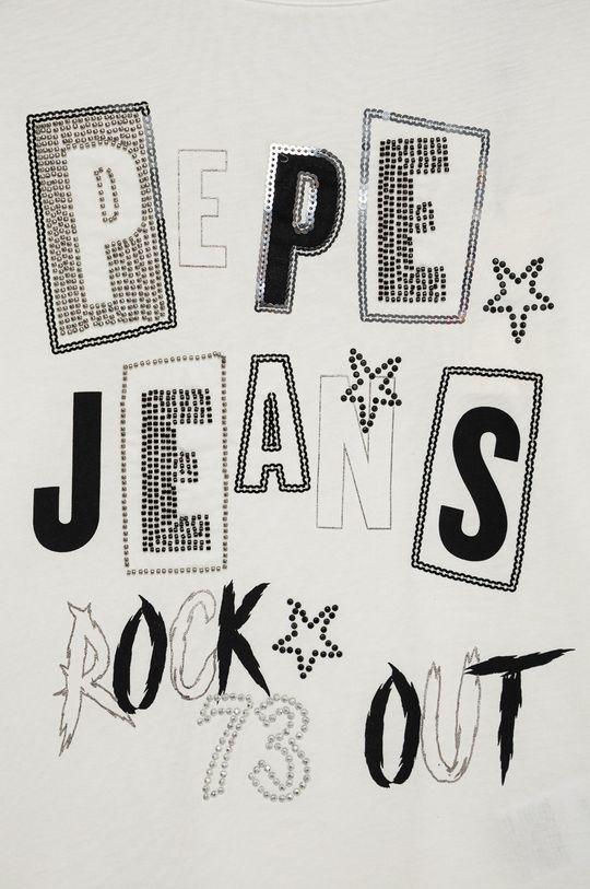 Pepe Jeans - Longsleeve bawełniany dziecięcy Tricia 100 % Bawełna