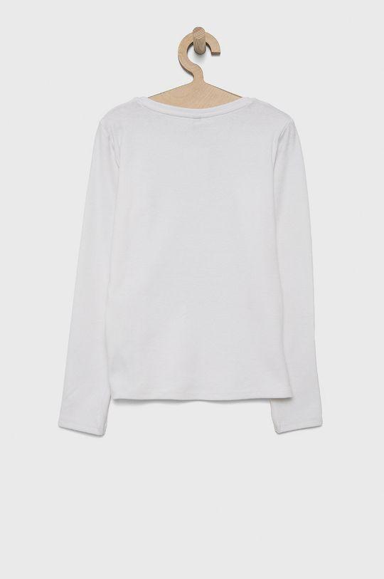 Birba&Trybeyond - Detské tričko s dlhým rukávom biela