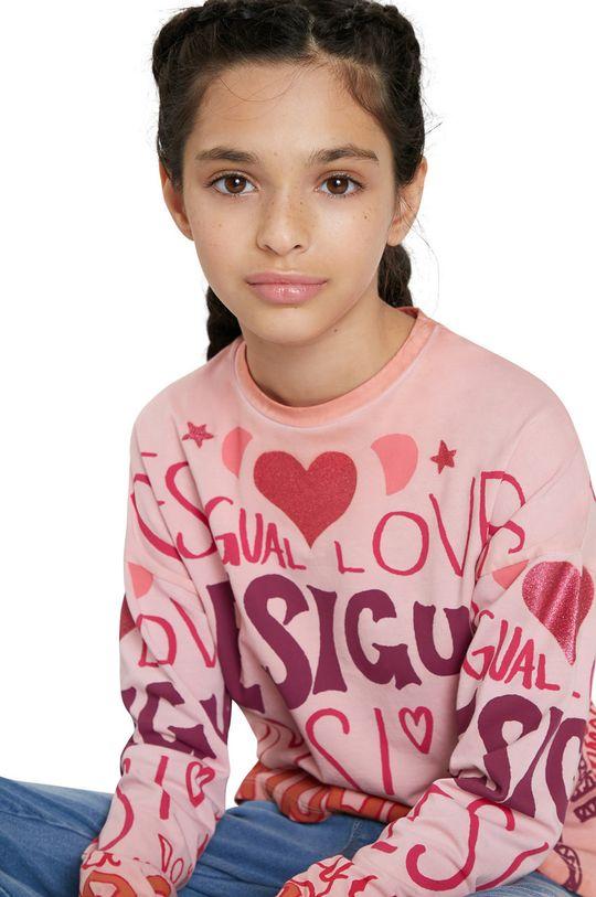 Desigual - Longsleeve copii De fete