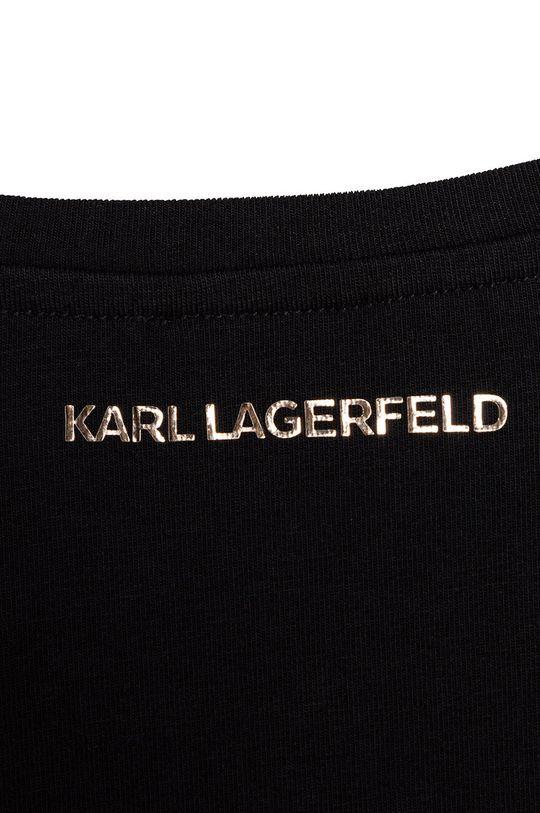 negru Karl Lagerfeld - Longsleeve copii