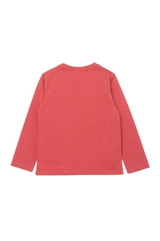 KENZO KIDS - Detské tričko s dlhým rukávom sýto ružová