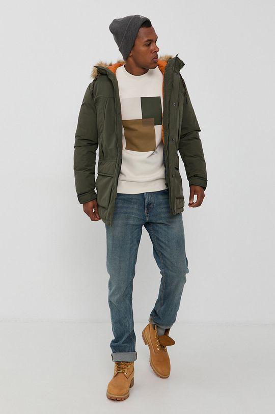 Premium by Jack&Jones - Bluza kremowy