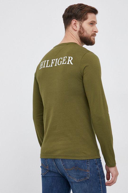 Tommy Hilfiger - Longsleeve bawełniany 100 % Bawełna