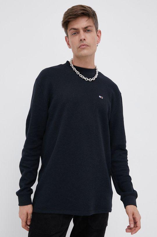 czarny Tommy Jeans - Bluza