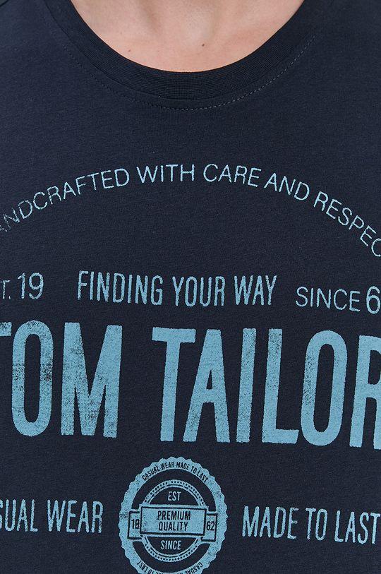 Tom Tailor - Longsleeve din bumbac De bărbați