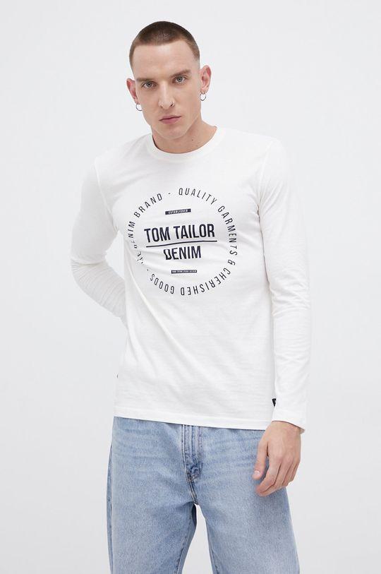 beżowy Tom Tailor - Longsleeve bawełniany